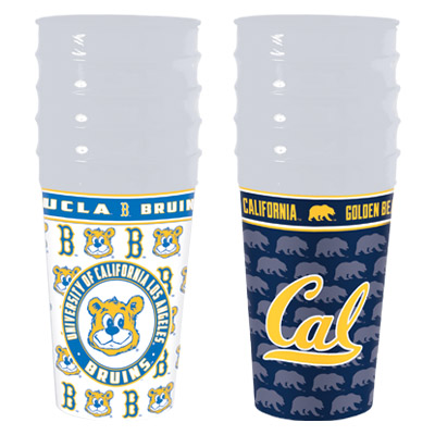 BM738 - Memorables 22 oz. Stadium Cup (5-Pack)
