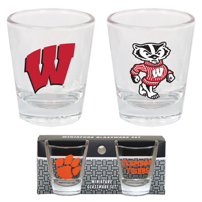 Tapered Shot Glass (2 Pack)
