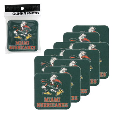 Pulp Board Square Coasters (10 pack)