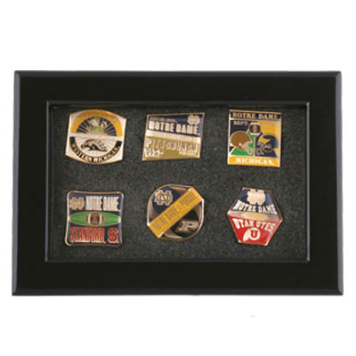 Framed Game Day Lapel Pin 6 Pin Set