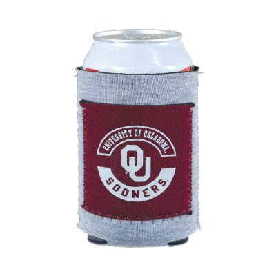 SB082 - Heathered Jersey Knit Can Cooler