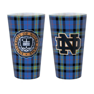 The Tartan Collection Block Island Pub Glass