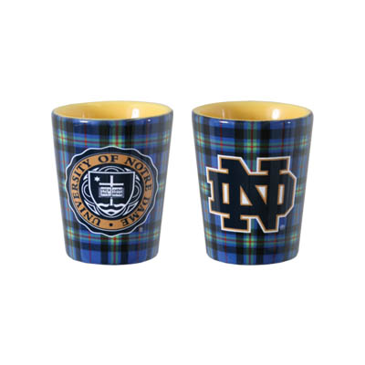 The Tartan Collection Ceramic Shot Glass