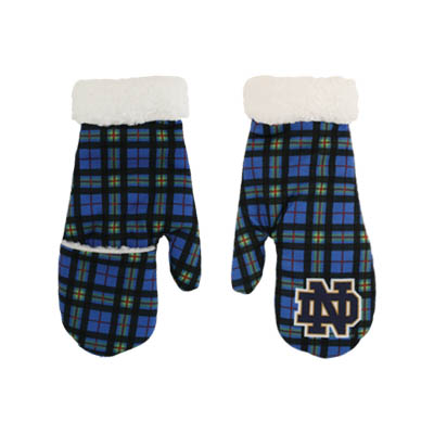 The Tartan Collection Sherpa Lined Mittens