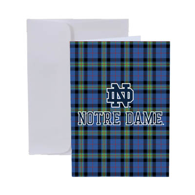 The Tartan Collection Greeting Card