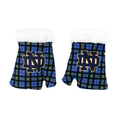The Tartan Collection Sherpa Lined Fingerless Mittens