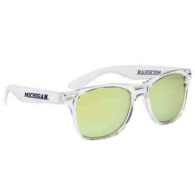 Crystalline Mirrored Sunglasses