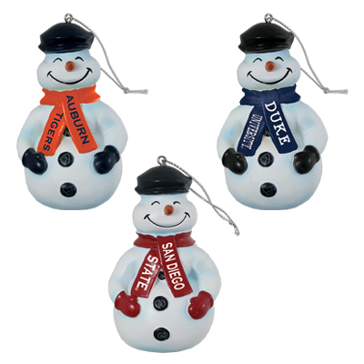 Cecil the Snowman Ornament